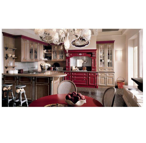 kitchen red rose